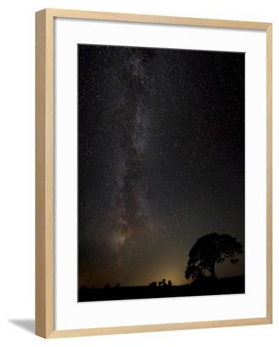 Milkyway-Kaspars Kurcens-Framed Art Print