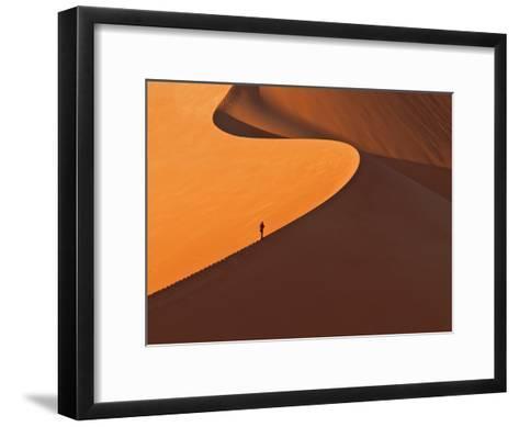 Gratwanderung-Reinhard Gaemlich-Framed Art Print