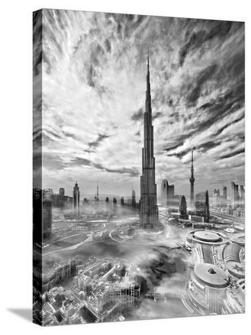 Super Skyline-Koji Tajima-Stretched Canvas Print