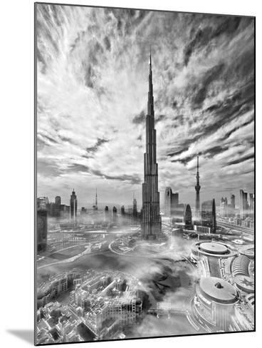 Super Skyline-Koji Tajima-Mounted Photographic Print