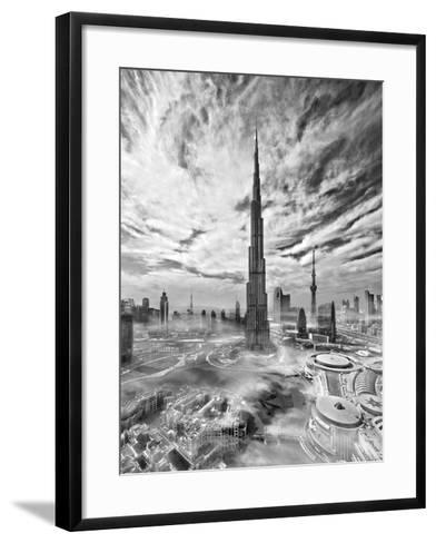 Super Skyline-Koji Tajima-Framed Art Print