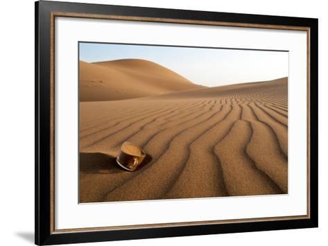The Thirsty Desert.-Soheil Soheily-Framed Art Print