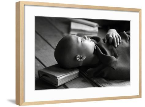 Sleeping Buddha-Walde Jansky-Framed Art Print