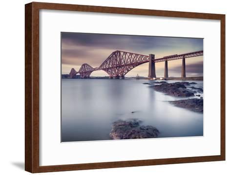 Forth Rail Bridge-Martin Vlasko-Framed Art Print