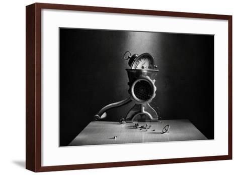 The End of Time-Victoria Ivanova-Framed Art Print