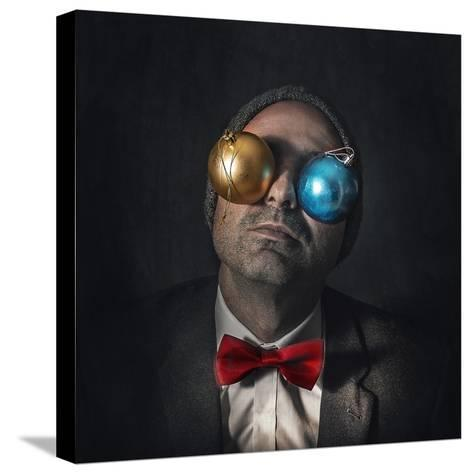 Christmas Blindness...-Marcos Gali-Stretched Canvas Print