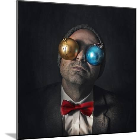 Christmas Blindness...-Marcos Gali-Mounted Photographic Print
