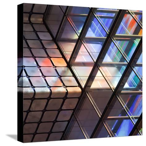 Lines and Colours-Jeroen Van-Stretched Canvas Print