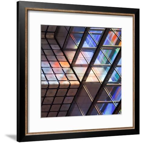 Lines and Colours-Jeroen Van-Framed Art Print