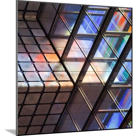 Lines and Colours-Jeroen Van-Mounted Photographic Print