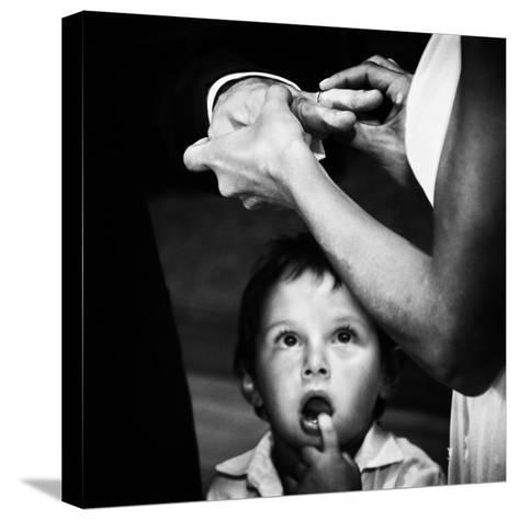 Mom, Dad, What's Going On?-Santiago Trupkin-Stretched Canvas Print