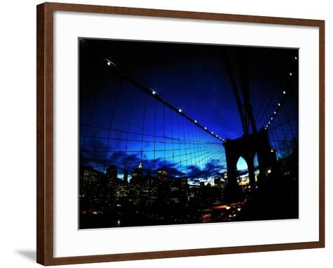 Brooklyn Colours-Fulvio Pellegrini-Framed Art Print