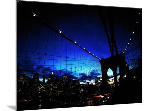 Brooklyn Colours-Fulvio Pellegrini-Mounted Photographic Print