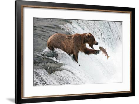 Unlucky Jump-Peter Stahl-Framed Art Print