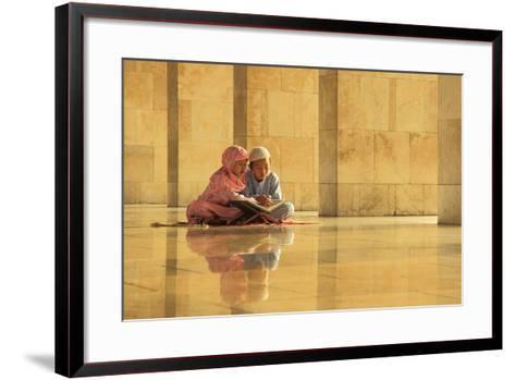 Learning-Hedianto Hs-Framed Art Print