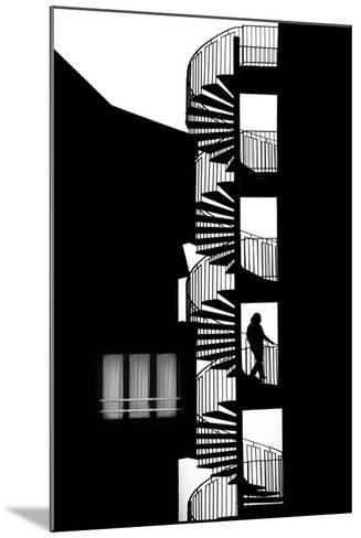 Silhouette-Massimo Della-Mounted Photographic Print