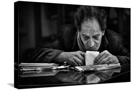 A Little Secret...-Antonio Grambone-Stretched Canvas Print