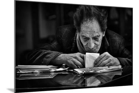 A Little Secret...-Antonio Grambone-Mounted Photographic Print