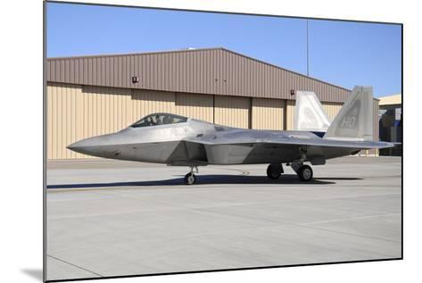 U.S. Air Force F-22A Raptor Taxiing at Holloman Air Force Base-Stocktrek Images-Mounted Photographic Print