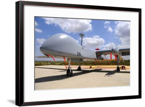 A Heron Tp Unmanned Aerial Vehicle of the Israeli Air Force-Stocktrek Images-Framed Art Print