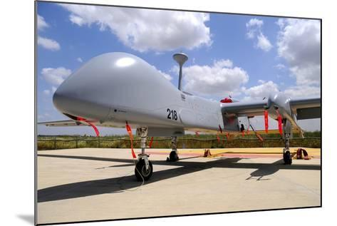 A Heron Tp Unmanned Aerial Vehicle of the Israeli Air Force-Stocktrek Images-Mounted Photographic Print
