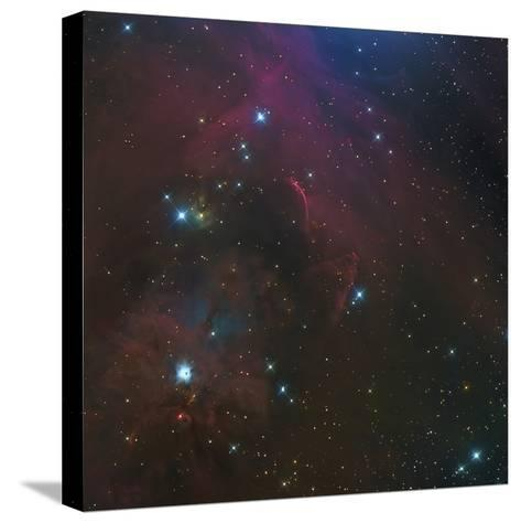 The Waterfall Nebula-Stocktrek Images-Stretched Canvas Print