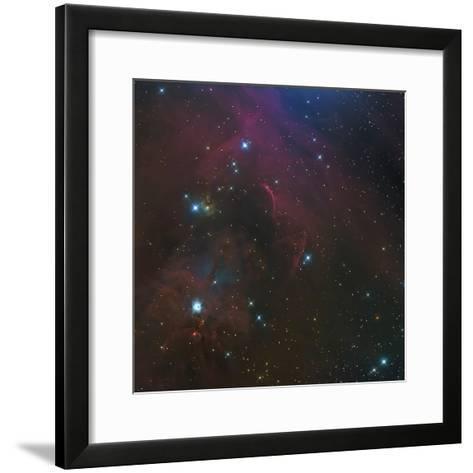 The Waterfall Nebula-Stocktrek Images-Framed Art Print