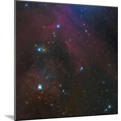 The Waterfall Nebula-Stocktrek Images-Mounted Photographic Print