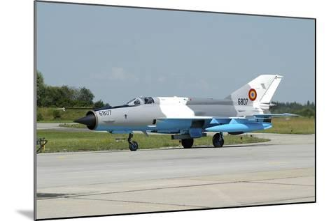 Mig-21 Lancer of the Romanian Air Force-Stocktrek Images-Mounted Photographic Print