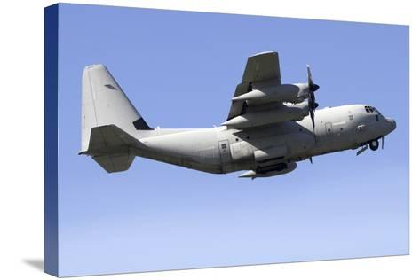 Kc-130J Tanker of the Italian Air Force-Stocktrek Images-Stretched Canvas Print