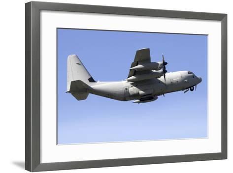 Kc-130J Tanker of the Italian Air Force-Stocktrek Images-Framed Art Print