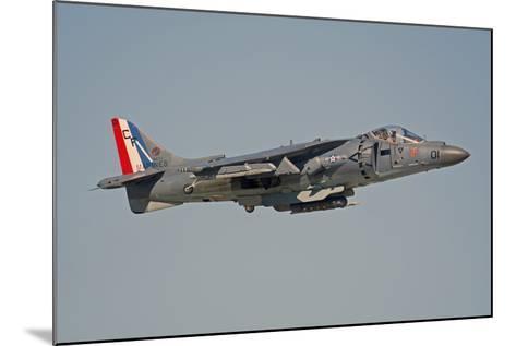 Av-8B Harrier Flying over Nellis Air Force Base, Nevada-Stocktrek Images-Mounted Photographic Print