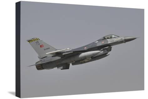A Turkish Air Force F-16C Taking Off During Exercise Anatolian Eagle-Stocktrek Images-Stretched Canvas Print