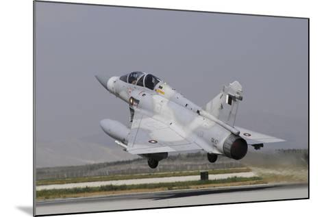 A Mirage 2000-5Dda from the Qatar Emiri Air Force Taking Off-Stocktrek Images-Mounted Photographic Print