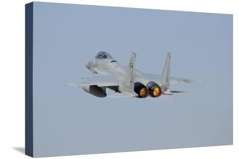 F-15 Eagle of the Royal Saudi Air Force Taking Off-Stocktrek Images-Stretched Canvas Print