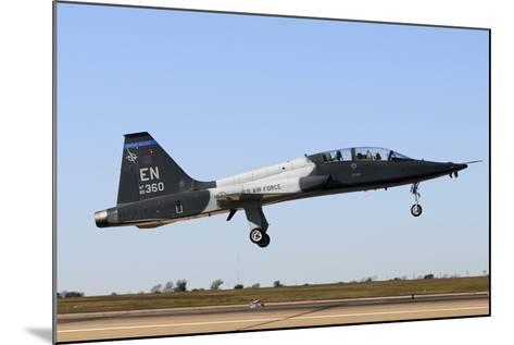 U.S. Air Force T-38 Talon Landing at Sheppard Air Force Base, Texas-Stocktrek Images-Mounted Photographic Print