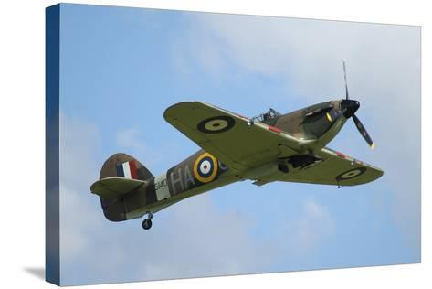 Hawker Hurricane World War Ii Fighter Plane of the Royal Air Force-Stocktrek Images-Stretched Canvas Print