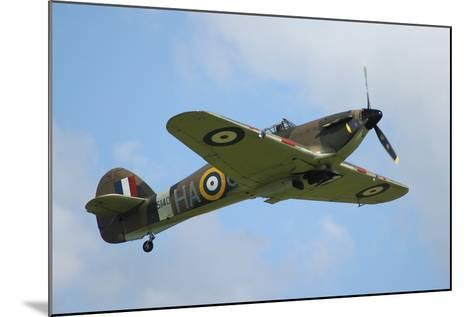 Hawker Hurricane World War Ii Fighter Plane of the Royal Air Force-Stocktrek Images-Mounted Photographic Print