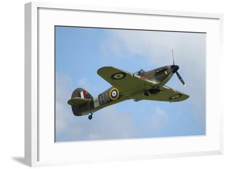 Hawker Hurricane World War Ii Fighter Plane of the Royal Air Force-Stocktrek Images-Framed Art Print