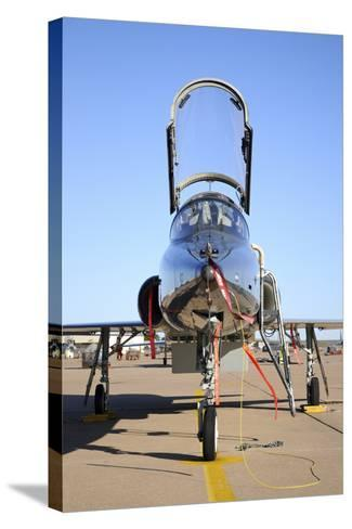 U.S. Air Force T-38 Talon at Sheppard Air Force Base, Texas-Stocktrek Images-Stretched Canvas Print