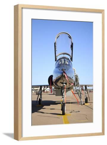 U.S. Air Force T-38 Talon at Sheppard Air Force Base, Texas-Stocktrek Images-Framed Art Print