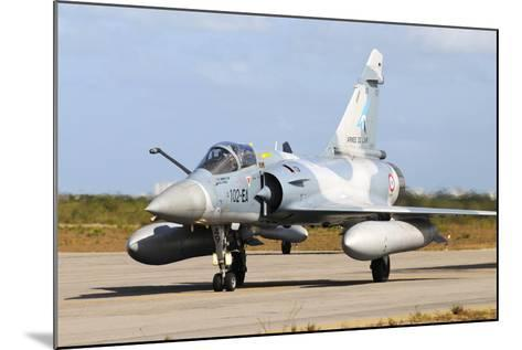 French Air Force Mirage 2000 Taxiing at Natal Air Force Base, Brazil-Stocktrek Images-Mounted Photographic Print