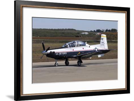 U.S. Air Force T-6A Texan Ii at Sheppard Air Force Base, Texas-Stocktrek Images-Framed Art Print
