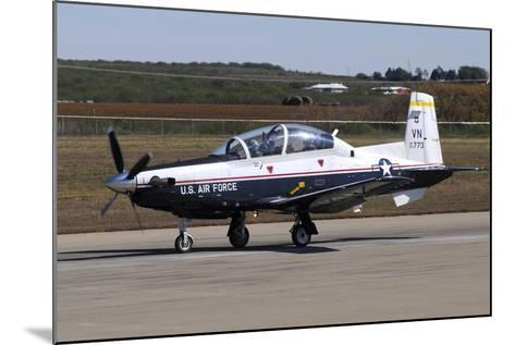 U.S. Air Force T-6A Texan Ii at Sheppard Air Force Base, Texas-Stocktrek Images-Mounted Photographic Print