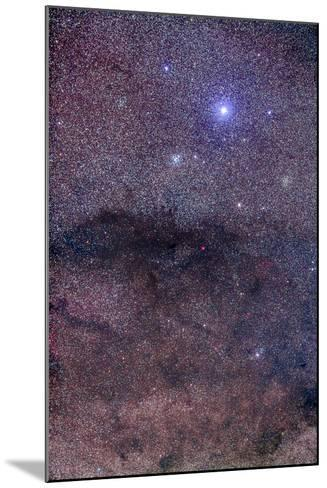 The Coalsack and Jewel Box Cluster in the Southern Cross-Stocktrek Images-Mounted Photographic Print