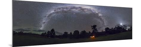 Panorama of the Southern Night Sky in Australia-Stocktrek Images-Mounted Photographic Print
