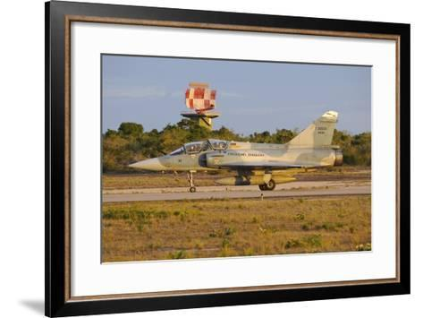 Brazilian Air Force F-2000 Taxiing at Natal Air Force Base, Brazil-Stocktrek Images-Framed Art Print