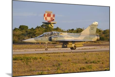 Brazilian Air Force F-2000 Taxiing at Natal Air Force Base, Brazil-Stocktrek Images-Mounted Photographic Print