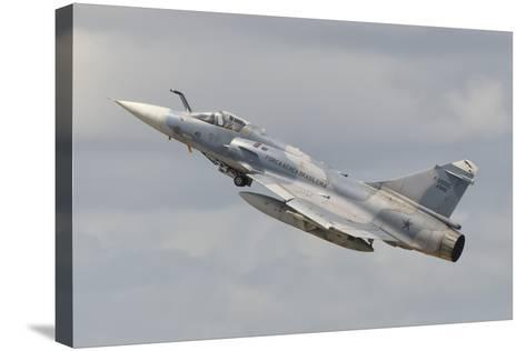 Brazilian Air Force Mirage 2000 at Natal Air Force Base, Brazil-Stocktrek Images-Stretched Canvas Print