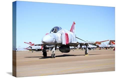 U.S. Air Force Qf-4 Phantom Ii on the Ramp at Holloman Air Force Base-Stocktrek Images-Stretched Canvas Print